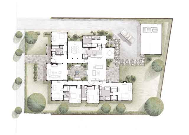 Van Dusen Lane Residence